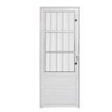 Porta Aluminio 210x80 Postigo/Sala