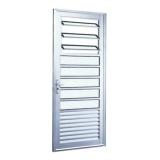 Porta Alumínio 210X80 Cozinha/Basculante